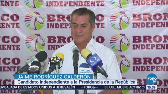Jaime Rodríguez Reconoce Elecciones Están Violentando