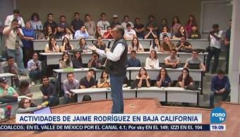 Jaime Rodríguez Reúne Estudiantes Baja California