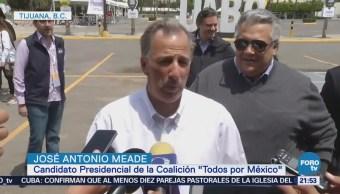José Antonio Meade Afirma Listo Segundo Debate Presidencial