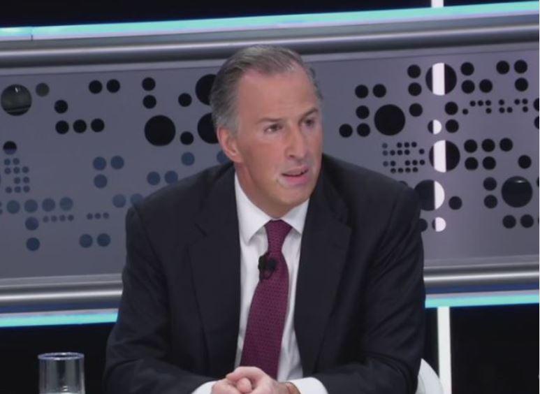 José Antonio Meade, candidato presidencial de la coalición 'Todos por México', expuso su plataforma en 'Tercer Grado'. (Noticieros Televisa)