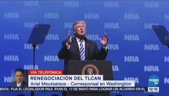 Presión Trump Llegar Acuerdo Renegociación Tlcan