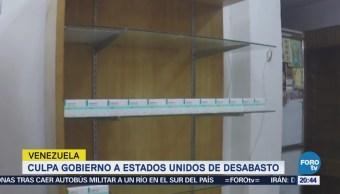 Desabasto Medicinas Venezuela