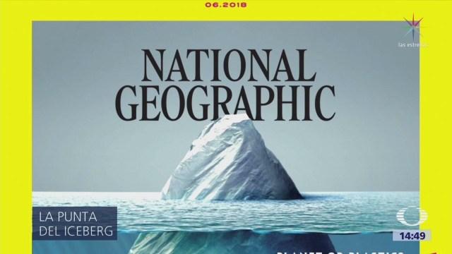 La portada del National Geographic sobre el plástico