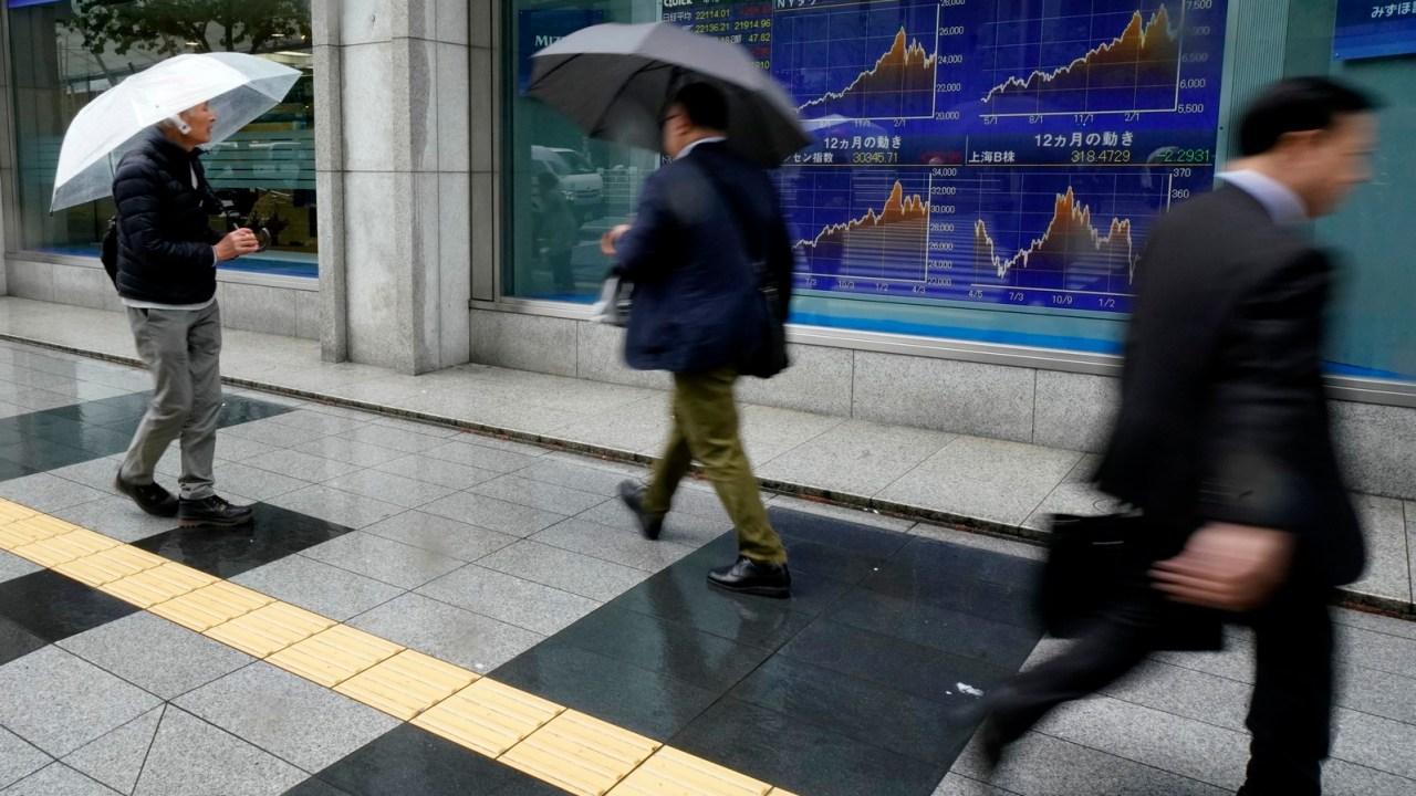 Bolsas de Asia-Pacífico reportan cierres mixtos