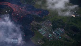 Lava del Kilauea cubre pozo de planta geotérmica