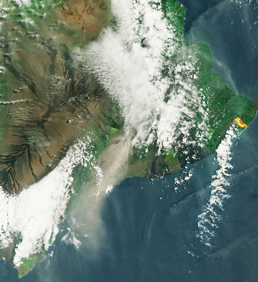Imagenes lava del volcan Kilauea