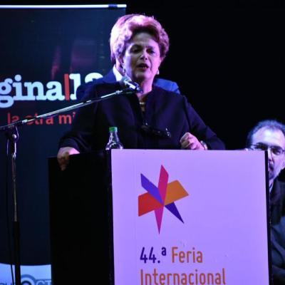 Libre o preso, Lula será el próximo presidente de Brasil: Dilma Rousseff