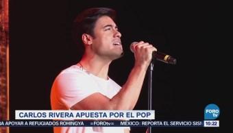 Carlos Rivera apuesta por las baladas