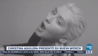 Christina Aguilera presenta Accelerate musica cantante