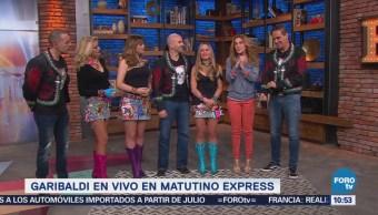 #LoEspectaculardeME: Garibaldi en vivo en Matutino Express