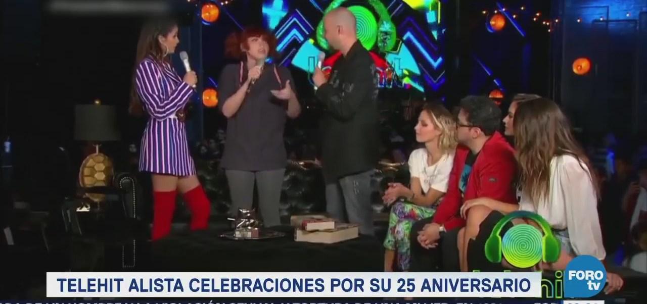 #LoEspectaculardeME: Telehit alista celebraciones por su 25 aniversario