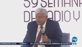 López Obrador Asistió Semana Nacional Radio Televisión