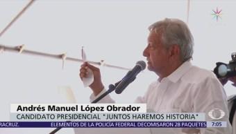López Obrador compara a Ricardo Anaya con Trump