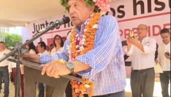 López Obrador ofrece proyecto de desarrollo local cada región país