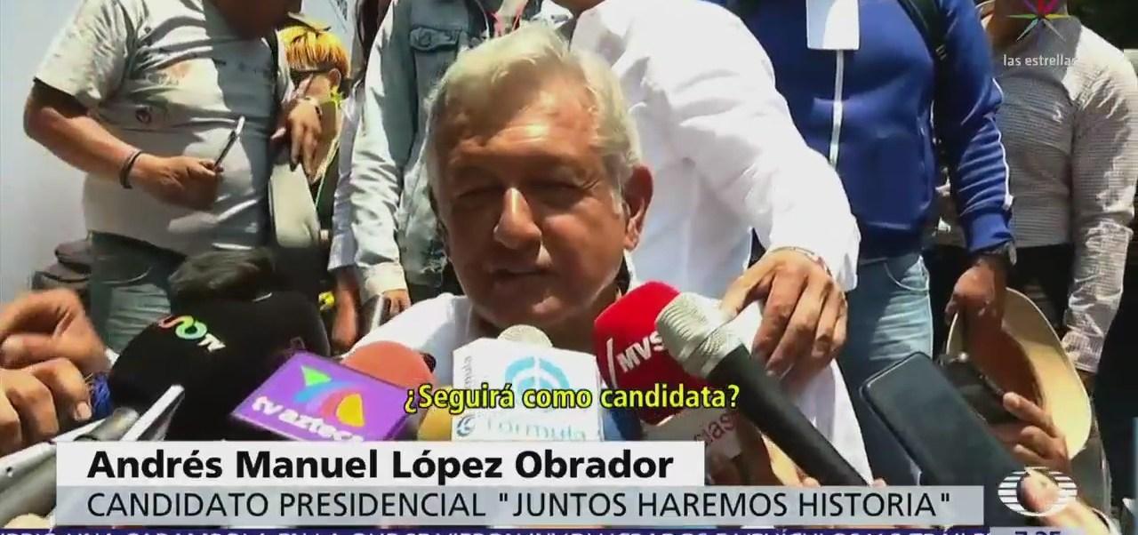 López Obrador reitera apoyo a Nestora Salgado