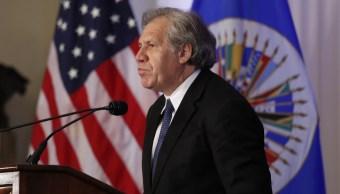 Almagro pide sanciones para acabar con la 'dictadura' de Venezuela