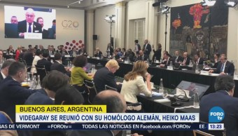 Luis Videgaray Participa Cumbre G20 Argentina Reúne Ministro Alemania