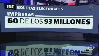 INe Reitera No Reimprimirá Boletas Electorales