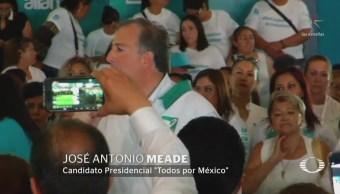 José Antonio Meade Asegura Ganará Presidencia