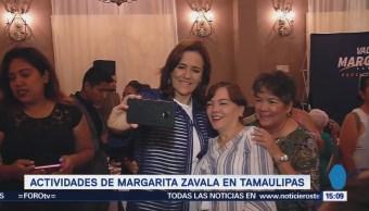 Margarita Zavala Presenta Propuestas Tamaulipas