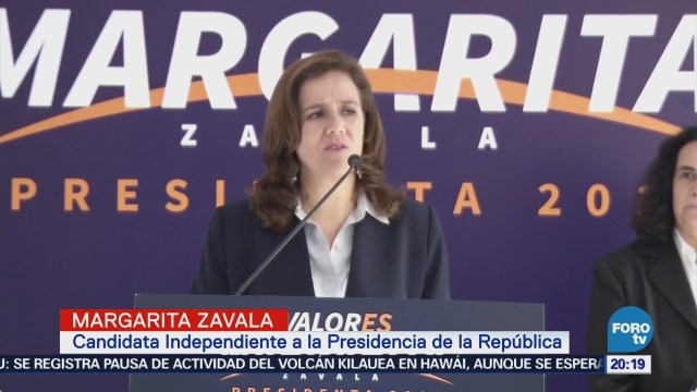 Margarita Zavala propone revisar la Reforma Educativa