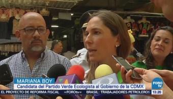 Mariana Boy denuncia afectaciones a comerciantes
