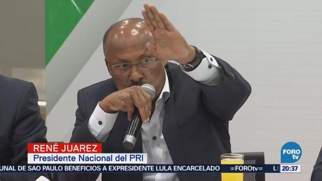 Meade ganará la elección presidencial René Juárez