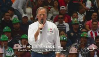 Meade No Permitirá Delincuentes Lleguen Senado