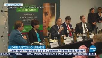 Meade presenta su libro El México