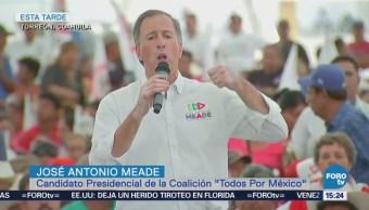 Meade Compromete Seguridad Campo