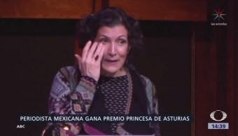 Mexicana Gana Premio Princesa De Asturias