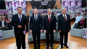'México Elige' registra caída Anaya y subida Meade, AMLO se mantiene