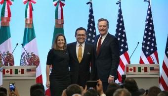 México, EU y Canadá retoman negociación del TLCAN