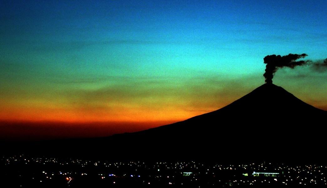 Popocatépetl - mapa de riesgos actualizado . Mexico-volcan