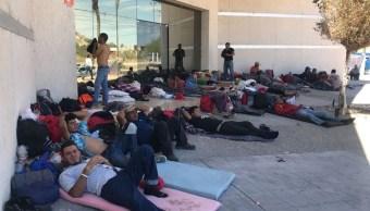 Migrantes varados en Sonora inician huelga de hambre para exigir documentos