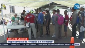 Migrantes Centroamericanos Visa Temporal Caravana Migrante