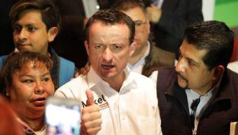 Mikel Arriola promete duplicar la pensión de los adultos mayores