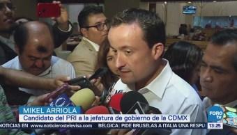 Mikel Arriola pide transparentar recursos de parquímetros