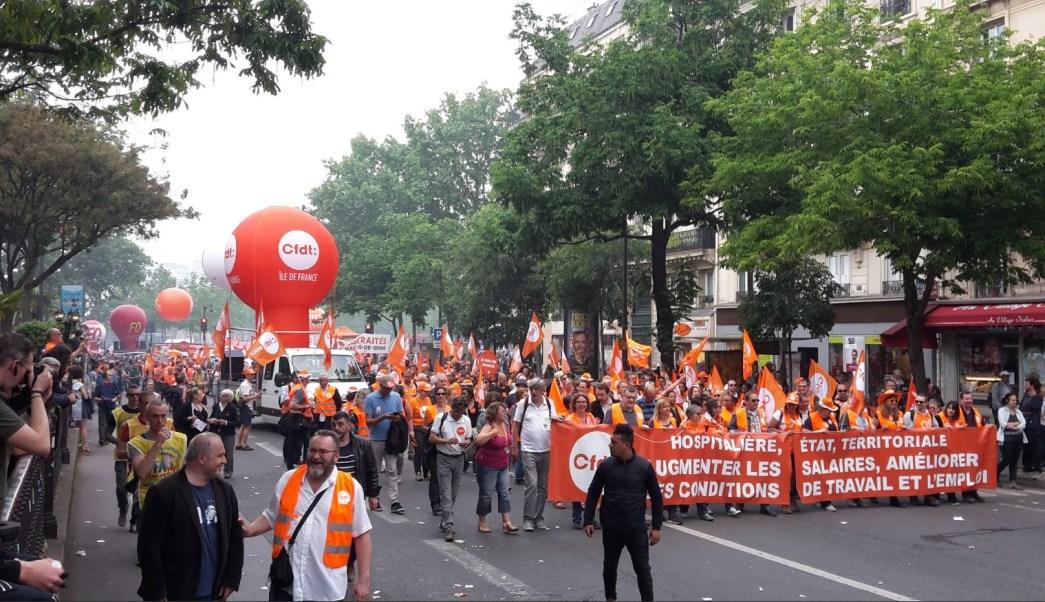 miles de franceses repudian plan de gobierno de emmanuel macron
