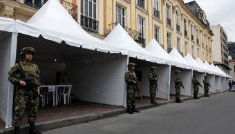 Colombia despliega 155 mil militares para elección presidencial