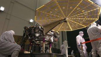 Mision Insight NASA analizar corazón Marte