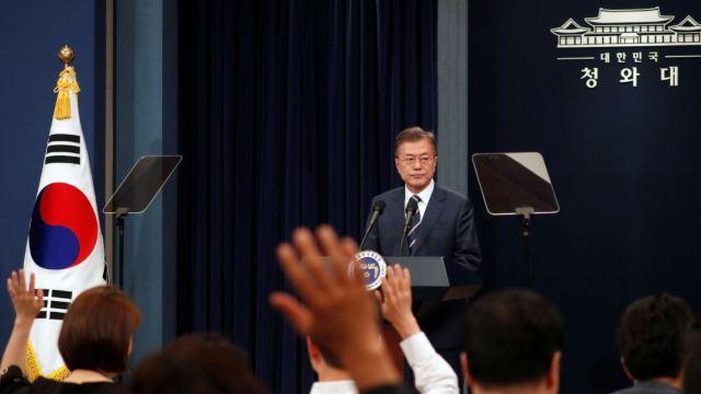 kim jong un duda garantias seguridad que le ofrece eu moon