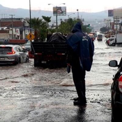 Lluvias intensas afectan el sur y oriente de Morelia