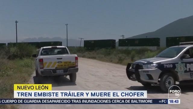 Muere Chofer Intentar Ganarle Paso Tren