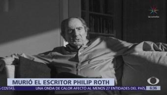 Muere el escritor Philip Roth, ganador del Premio Pulitzer