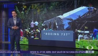 Mueren 110 personas en accidente de avión en Cuba