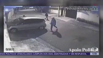 Mujer dispara a hombres que tratan de robarle