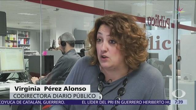 Mujeres Estudiantes Protestan España Leyes Más Justas Contra Abusos Sexuales