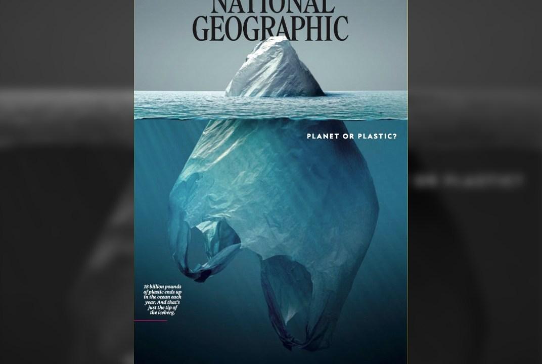 ¿Planeta o plástico?, la portada del National Geographic