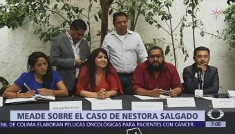 Nestora Salgado advierte que demandará a Meade por difamación
